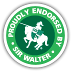 Proudly Endorsed by Sir Walter Premium Lawn Turf